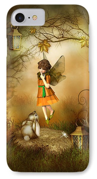 The Autumn Fairy IPhone Case by Jayne Wilson