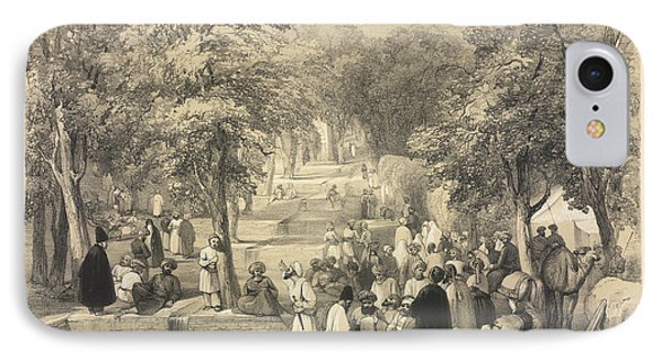 The Avenue At Baber's Tomb IPhone Case by British Library