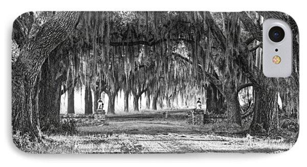 The Avenue Of Oaks IPhone Case by Scott Hansen