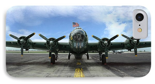 The B17 Flying Fortress IPhone Case