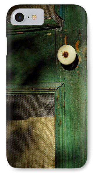 The Back Door IPhone Case by Michael Eingle