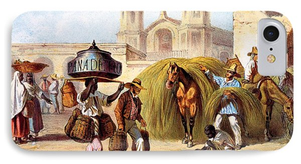 The Baker And The Straw Seller, 1840 IPhone Case