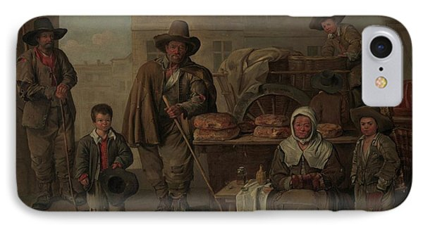The Bakers Cart IPhone Case by Jean Michelin