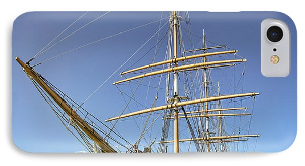 The Balclutha Historic 3 Masted Schooner - San Francisco Phone Case by Daniel Hagerman