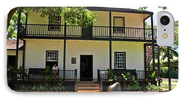 The Baldwin House In Lahaina I Phone Case by Kirsten Giving