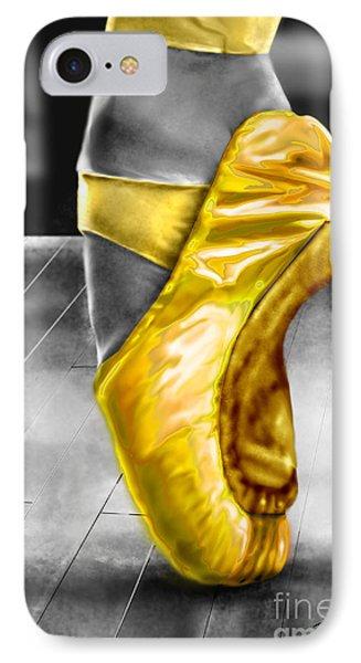 The Ballerina N Yellow  IPhone Case