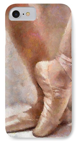 The Ballerina's Shoes IPhone Case by Georgiana Romanovna