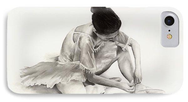 The Ballet Dancer IPhone Case by Hailey E Herrera