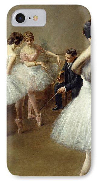 The Ballet Lesson IPhone Case
