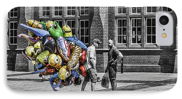 The Balloon Seller Popped IPhone Case