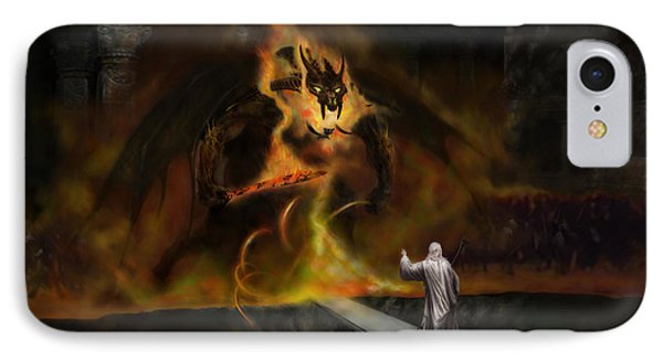 The Balrog IPhone Case