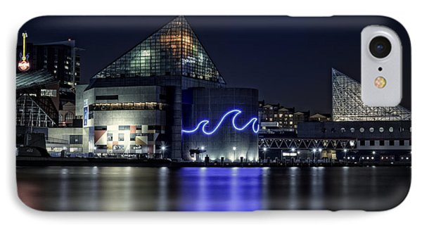 The Baltimore Aquarium IPhone Case by Rick Berk