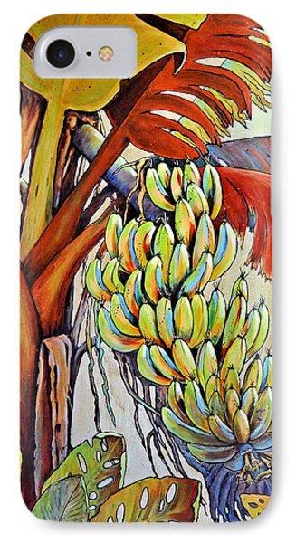 The Banana Tree Phone Case by JAXINE Cummins