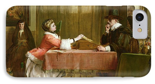 The Bankers Private Room, Negotiating IPhone Case