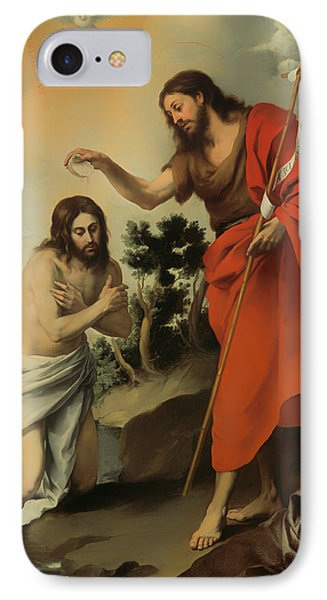 The Baptism Of Christ IPhone Case by Mountain Dreams