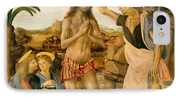 The Baptism Of Christ By John The Baptist IPhone Case