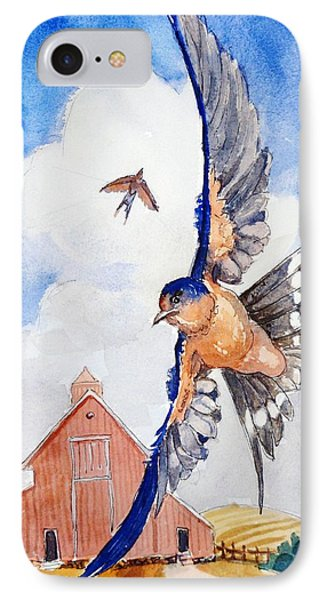 The Barn Swallow IPhone Case