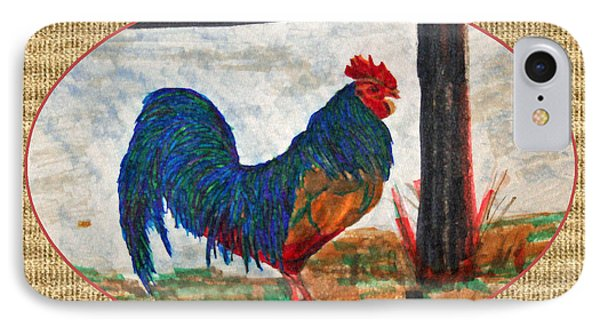 The Barnyard King Phone Case by Gail Daley