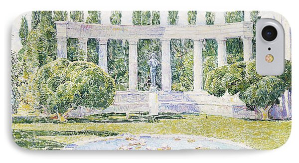 The Bartlett Gardens IPhone Case by Childe Hassam