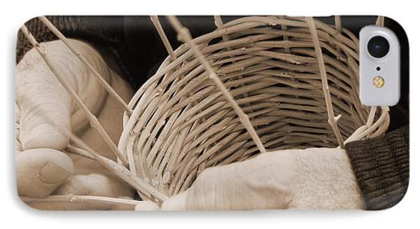 The Basket Weaver IPhone Case by Marcia Socolik