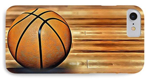 The Basketball Phone Case by Florian Rodarte