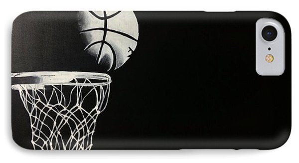 The Basketball Phone Case by Sanjay Thamake