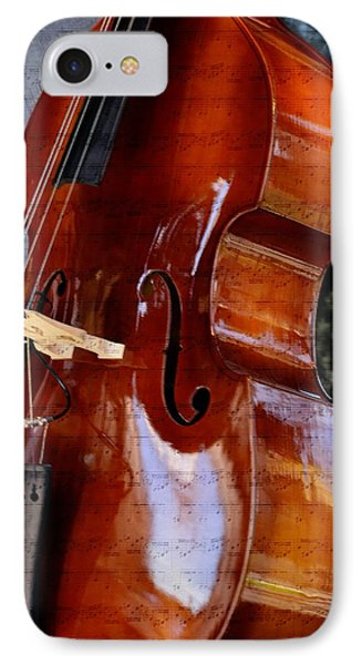 The Bass Of Music IPhone Case by Kae Cheatham