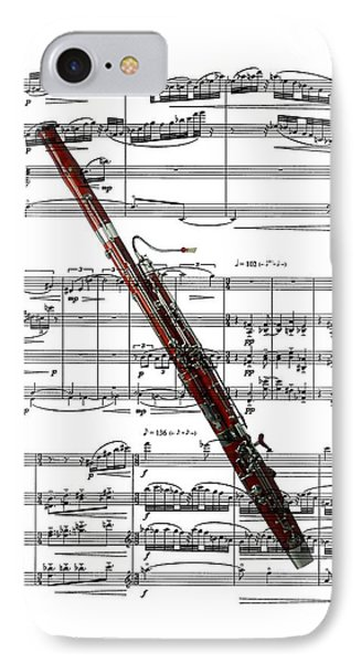 The Bassoon Phone Case by Ron Davidson