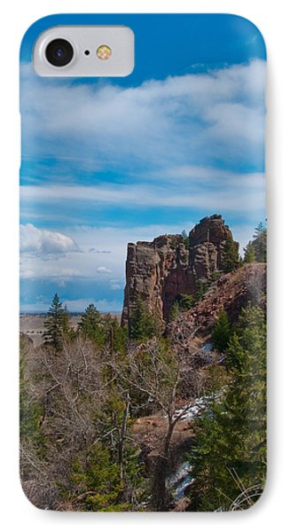 IPhone Case featuring the photograph The Bastile  by Tom Potter