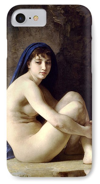 The Bather Phone Case by William Bouguereau