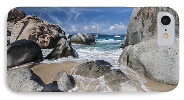 The Baths At Virgin Gorda Bvi IPhone Case by Adam Romanowicz