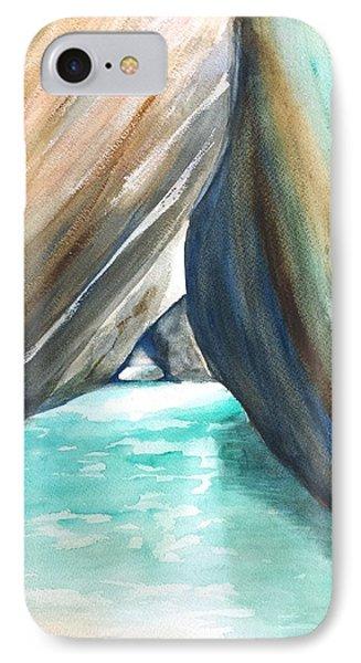 The Baths Turquoise IPhone Case by Carlin Blahnik