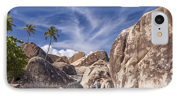 The Baths Virgin Gorda IPhone Case by Adam Romanowicz