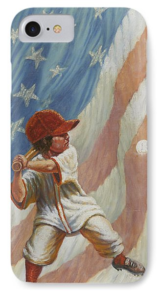 The Batter IPhone Case by Gregory Perillo