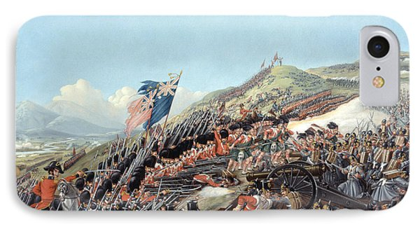 The Battle Of Alma On 20th September Phone Case by Edmund Walker
