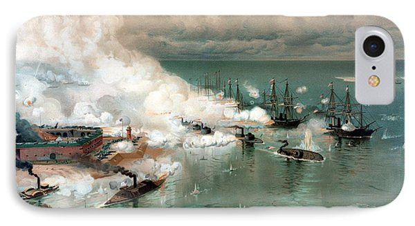 The Battle Of Mobile Bay IPhone Case by War Is Hell Store