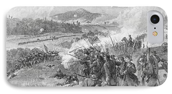 The Battle Of Resaca, Georgia, May 14th 1864, Illustration From Battles And Leaders Of The Civil IPhone Case
