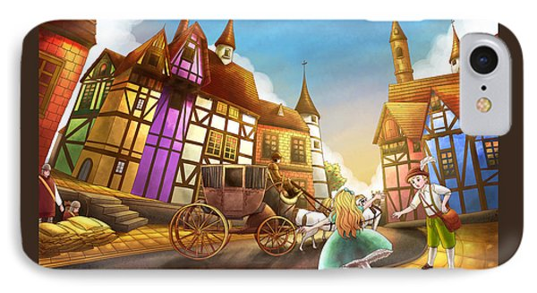 The Bavarian Village IPhone Case by Reynold Jay