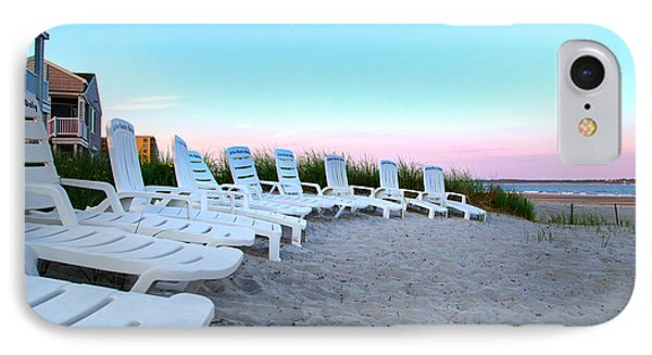 The Beach Chairs IPhone Case
