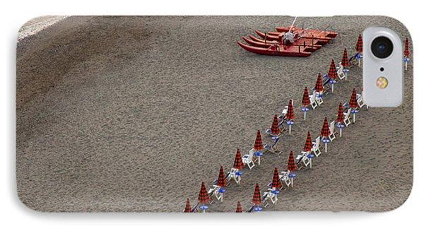 Shore iPhone 7 Case - The Beach In The Evening by Gianluca Morello