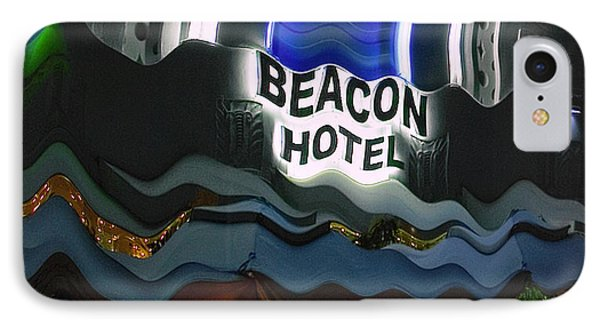 IPhone Case featuring the photograph The Beacon Hotel by Gary Dean Mercer Clark