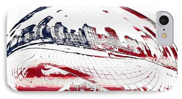 The Bean - American Icon IPhone Case by Celestial Images