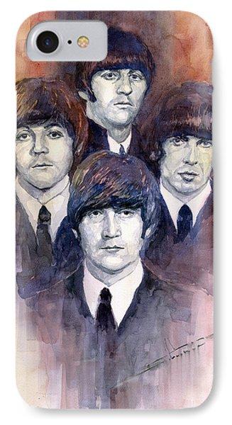 Musician iPhone 7 Case - The Beatles 02 by Yuriy Shevchuk