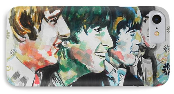 The Beatles 01 IPhone Case