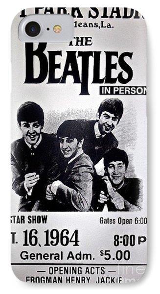 The Beatles Circa 1964 IPhone Case