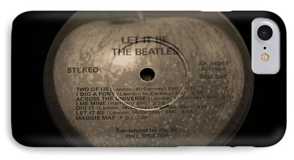 The Beatles Let It Be IPhone Case by Dan Sproul