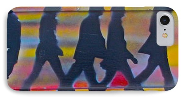 The Beatles Long Wood Phone Case by Tony B Conscious