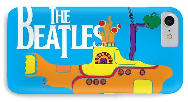 Music iPhone 7 Case - The Beatles No.11 by Geek N Rock