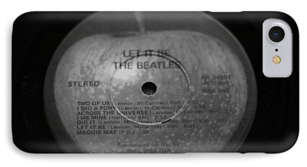 The Beatles Vinyl Let It Be IPhone Case by Dan Sproul