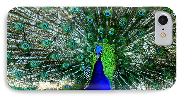 IPhone Case featuring the photograph The Beautiful Plumage by Kathy  White